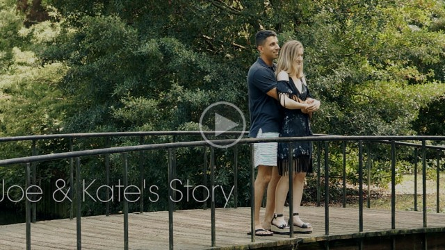 Love Story: Joe + Kate's Story filmed at Meredith College