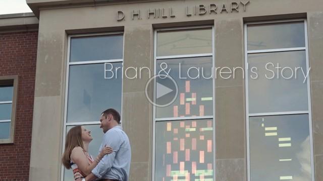 Love Story Film: Brian + Lauren's Story