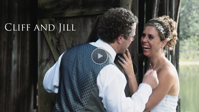 Cliff + Jill's Wedding at the Longhouse in Stokesdale, NC