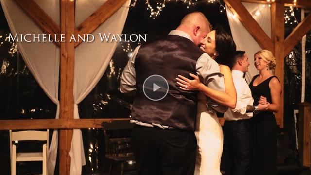 Waylon + Michelle's Wedding at the Bennet Bunn Plantation in Zebulon, NC
