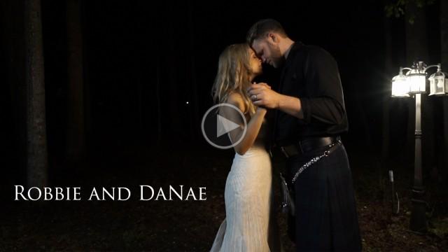 Robbie and DaNae's Backyard Scottish Wedding in Apex, NC