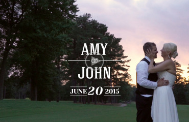 Raleigh Country Club wedding film thumbnail