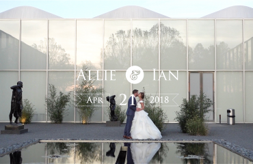 NC Museum of Art wedding film thumbnail