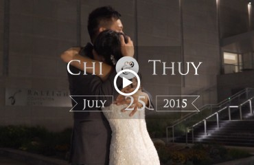 Sheraton Raleigh Downtown wedding film thumbnail